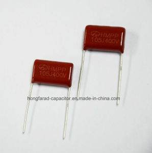 High Frequency 1.0UF 400V Metallized Polypropylene Film Capacitor pictures & photos