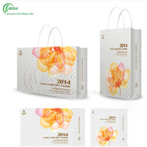 Custom Embossed Logo Packaging Bag Manufacurer (KG-PB057) pictures & photos