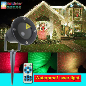Waterproof Rg Twinkling Star Laser Light Christmas Outdoor Laser Lighting with RF Remote Control pictures & photos