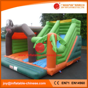 Monkey Theme Inflatable Jumping Castle Combo for Amusement Park (T3-309) pictures & photos
