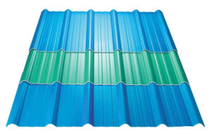 Hot Sale Building Materials UPVC / PVC Trapezoidal Roof Tiles pictures & photos