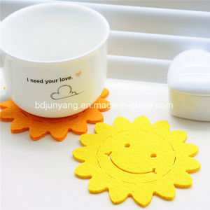Hot Selling Felt Tea Cup Coaster, Cartoon Felt Coaster pictures & photos
