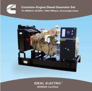 Cummins Generator (Diesel genset) Cummins-Engine 50/60Hz