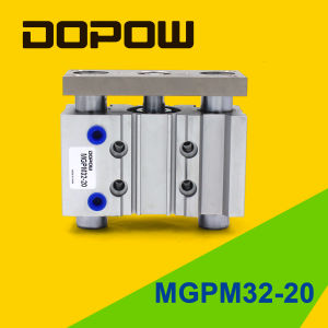 Dopow Tri-Slide Pnuematic Cylinder Mgpm 32-20 pictures & photos