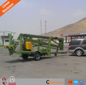 Trailer-Mounted Boom Lift with High Quality pictures & photos