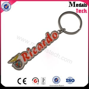 Aluminum Printing Epoxy Richido Football Club Keychain (SGS certificate) pictures & photos