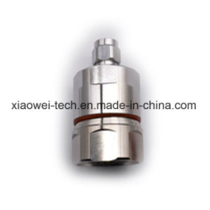 DIN (7/16) 3/8 Mini 4.1/9.5 RF Male Connector for 1-5/8 Feeder Cable pictures & photos