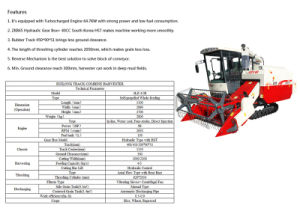 Small Harvesting Machinery with Good Quality for Only 4L pictures & photos