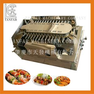 Automatic Rolling Gas Kebab BBQ Griller pictures & photos