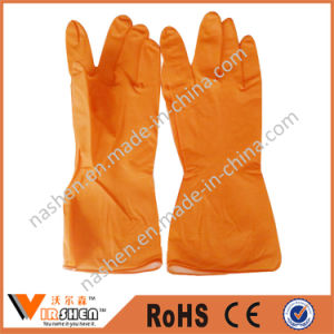 Long Cuff Washing and Cleaning Rubber Gloves pictures & photos