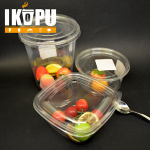240oz 32oz Disposable Clear Pet Plastic Salad Bowl pictures & photos