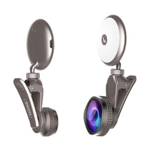 Selfie Ring with Fisheye Lens Light (RK19) pictures & photos