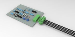 Plug Terminal Block with 5.08mm Pitch