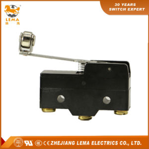 Lema Hinge Cross Roller Lever Lz15-Gw54-B 15A 250VAC Micro Switch pictures & photos
