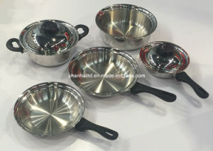 Tri-Ply All-Clad Stainless Steel Cookware Set pictures & photos