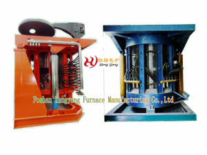 Induction Melting Furnace with Steel Case pictures & photos