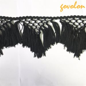 2017 Black High Quality Fringe/Tassel pictures & photos
