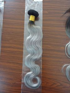 Malaysian Body Wave 8A Grade Virgin Hair Body Wave Soft Human Hair Weave Bundles Remy Human Hair Extension Ombre Grey Human Hair Bundles