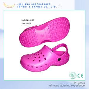 Rose Color EVA Clog, Garden Clogs Women Summer Footwear pictures & photos