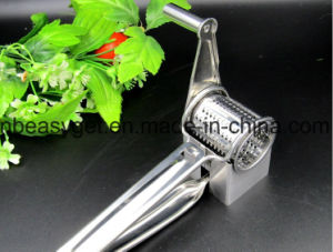 Stainless Steel Cheese Grater, Rotary Razor Sharp Blades, Removeable Parts for Fast Cleanup Lightwieght and Versatile, Home Kitchen Tools Esg10140 pictures & photos
