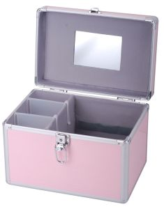 Ningbo Factory Custom Aluminum Hard Side Cosmetic Case pictures & photos