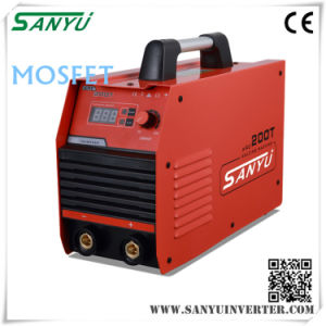 Ce CCC Certification Passed Professional and Portable IGBT DC Inverter Welder Arc-200t MOS pictures & photos
