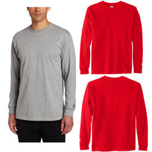 OEM Men Long Sleeve Fitness Shirts Sport Running Gym T-Shirts pictures & photos