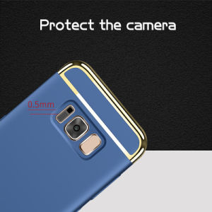 Three Part Electroplating & Oil Paint Phone Case for Samsung S8/ S8+ pictures & photos