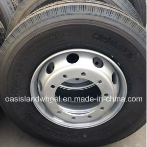Truck Tyre (11r22.5) with Alloy Rim 22.5X8.25 Assembly Wheel pictures & photos