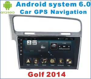 Android System 6.0 Car GPS Navigation for Golf 2014 with Car DVD Player pictures & photos