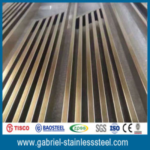 201 Stainless Steel Panel Folding Metal Room Divider pictures & photos