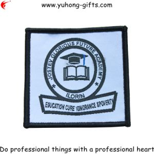 Serging Edge School College Badge for Uniform (YH-WB028) pictures & photos
