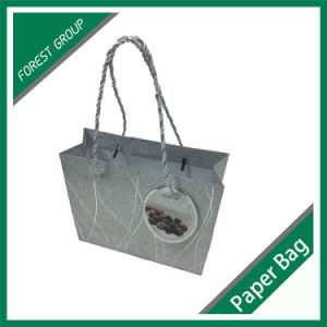 Custom Printed Luxury Paper Shopping Bag pictures & photos