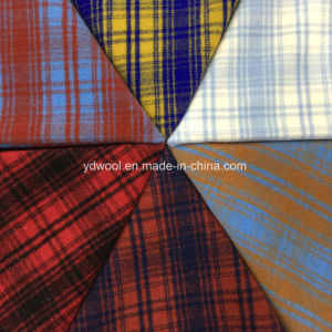 Check Napping Wool Fabric Colors for Overcoat pictures & photos