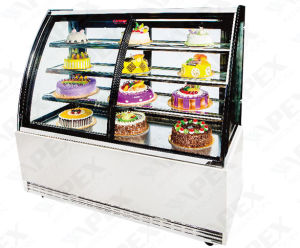 Commercial Cake Display Cabinet with Embraco Compressor pictures & photos
