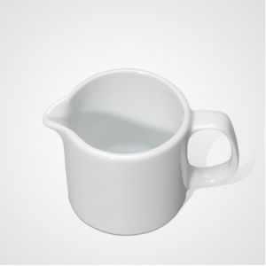 Hot Selling Porcelain Coffee Shop Creamer of Custom Logo Design pictures & photos