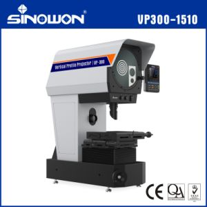 Easy Operation Vertical Profile Projector Support Edge Detection pictures & photos