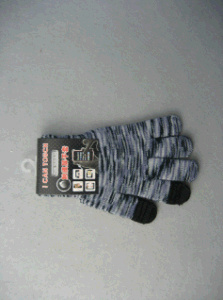 10g Polyester Liner Three Finger Touch Glove-T2004 pictures & photos