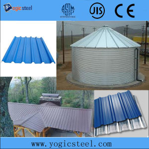 PPGI Color Coated Galvanized Corrugated Steel for Roofing pictures & photos