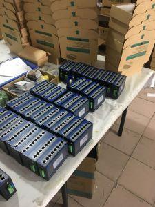 250 Meter 2 X Gigabit SFP + 2 X Gigabite Uplink Port +24 Port Management Poe Switch pictures & photos