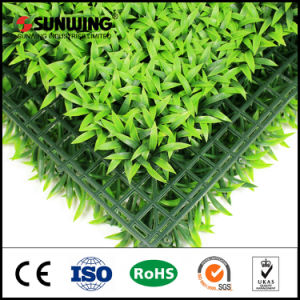 2017 New Anti-UV Artificial Boxwood Grass Mat for Outdoor Decoration pictures & photos