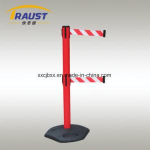 Double Belt Plastic Traffic Barrier pictures & photos