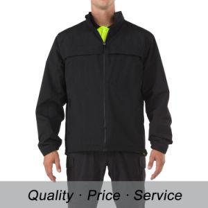 Black Cotton Men Winter Jacket Uniform pictures & photos