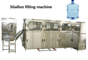 Complete Automatic 5 Gallon Barrel Drinking Water Filling Bottling Machine pictures & photos