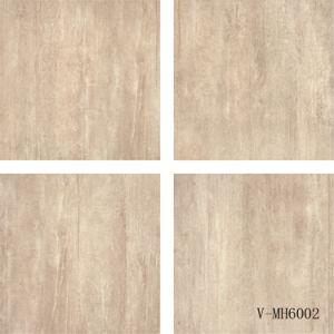 China Factory Interior Italian Design Four Faces Porcelain Brown Floor Tile (600X600mm) pictures & photos