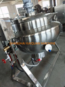 Jackete Kettle Stainless Steel Kettle Gas Kettle Tilting Kettle Factory pictures & photos