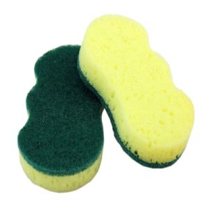 8 Shape Scouring Pad Sponge pictures & photos