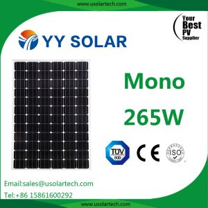 High Quality 265W Mono Solar Panel pictures & photos