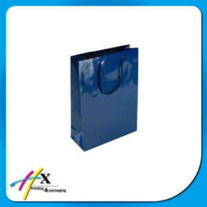 Wholesale Gloss Surface Paper Shopping Bag for Gift pictures & photos