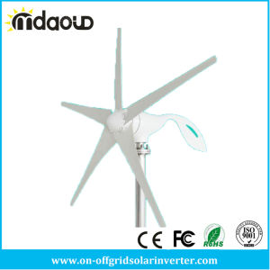 100W/200W/300W Electronic Wind Generator, 12V/24V Mini Wind Power Generator 3/5PCS Blades Residential Wind Turbine pictures & photos